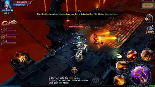 RPG Clash for dawn für das Smartphone
