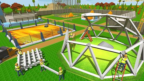 Jurassic dinosaur park craft: Dino world für Android
