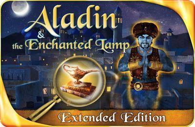 логотип Аладин и Волшебная Лампа