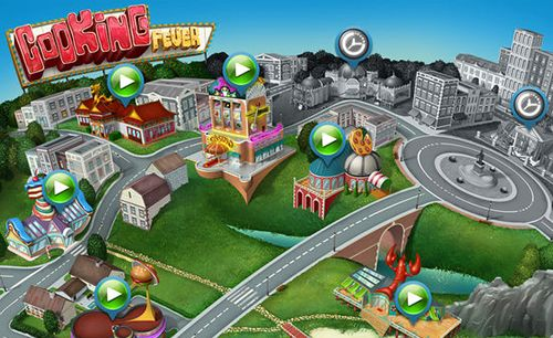 Cooking fever in Russian