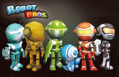 логотип Братья Роботы