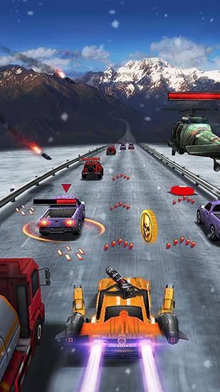 Arcade Death road 2 für das Smartphone