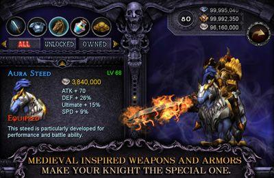 El caballero de Apocalipsis: Lucha infinita con Arma bendita y el Caballo sagrado para iPhone gratis