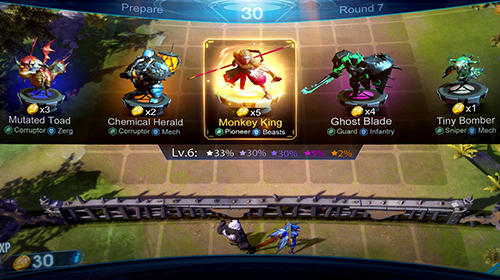 Arena of evolution: Chess heroes Screenshot