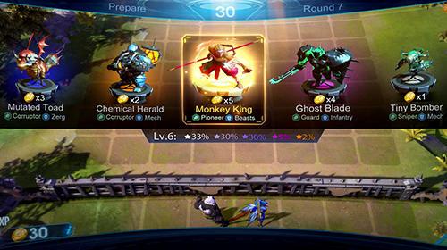 Arena of evolution: Chess heroes captura de pantalla 1