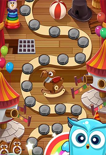 Arcade-Spiele Owl blast mania für das Smartphone