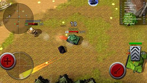 Action Battle tank für das Smartphone
