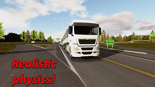 Heavy truck simulator für Android