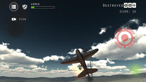 Airplane fighters combat Screenshot