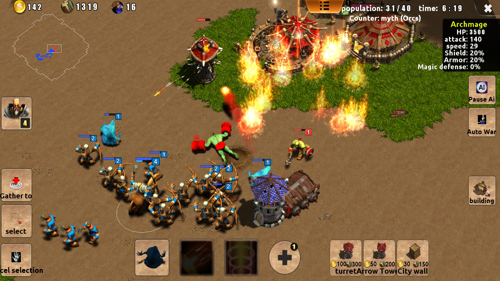 Magic War screenshot 1