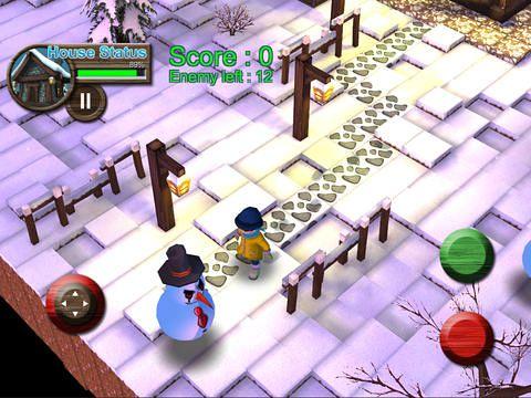 Juegos de arcade: descarga Súper batalla de las bolas de nieve a tu teléfono