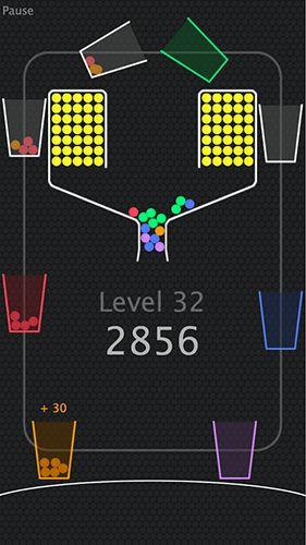 Arcade-Spiele 100 Balls+ für das Smartphone