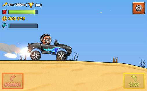 Mad puppet racing: Big hill für Android