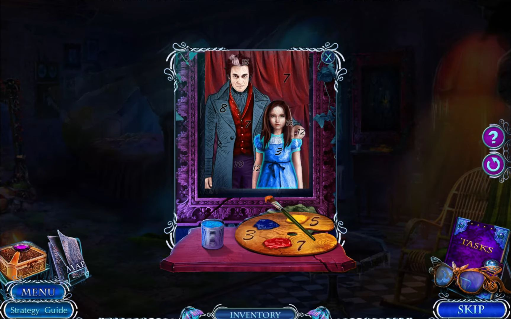 Hidden Objects - Mystery Tales 7 (Free To Play) captura de tela 1