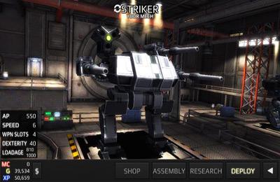 Screenshot Roboterkrieg 3 auf dem iPhone