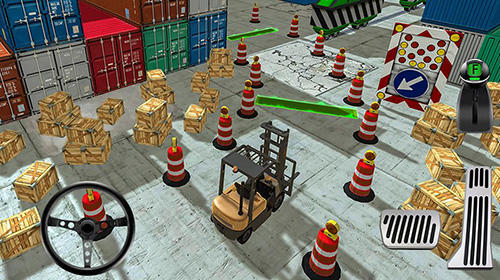 Cargo crew: Port truck driver für Android