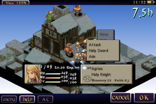 Final fantasy tactics: The war of the lions screenshot 1