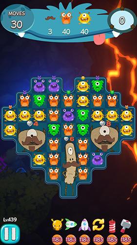 3 Gewinnt-Spiele Coco pang: Puzzle master game auf Deutsch