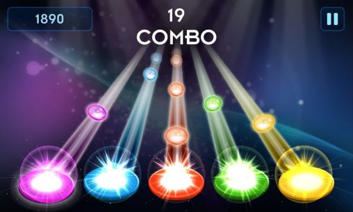 Beat hero: Be a guitar hero für Android