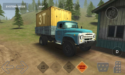Dirt trucker: Muddy hills auf Deutsch