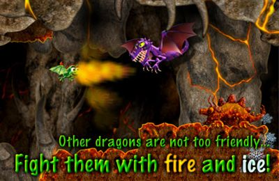Little Dragon - One Touch Flying Game for iPhone for free