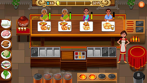 Masala express: Cooking game für Android