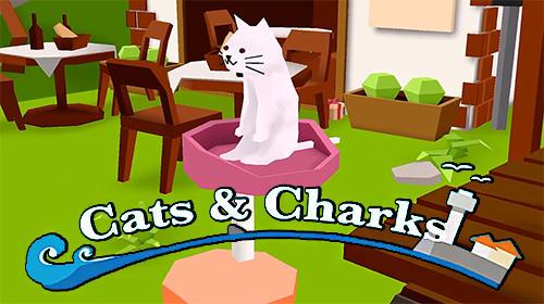 Cats and sharks: 3D game Screenshot