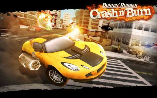 Burnin' rubber: Crash n' burn capture d'écran