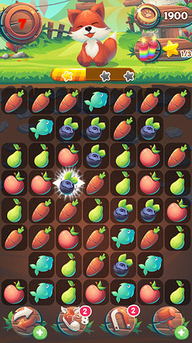 Fruit forest crush: Link 3 Screenshot