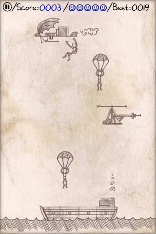 El pánico de paracaídas en español