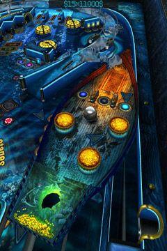 Настольные игры: скачать The Deep Pinball на телефон