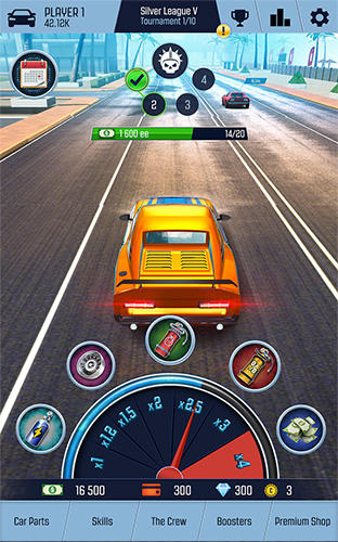 Arcade Nitro racing go for smartphone