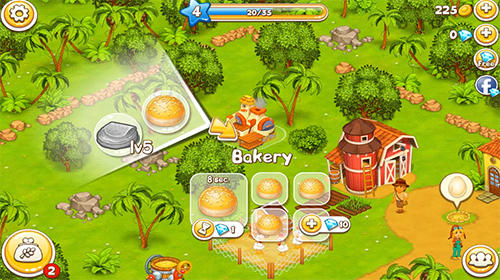Farm paradise: Hay island bay для Android