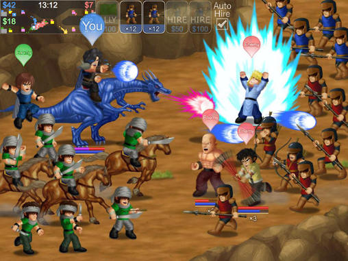 Hero fighter X für Android