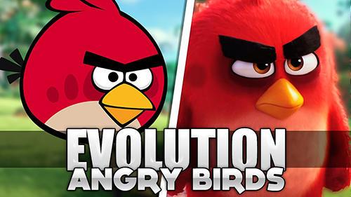логотип Злые птицы: Эволюция