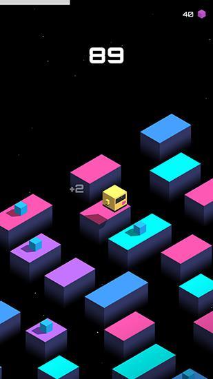 Cube jump auf Deutsch