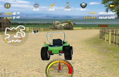 Les Courses en Machines Agricoles pour iPhone