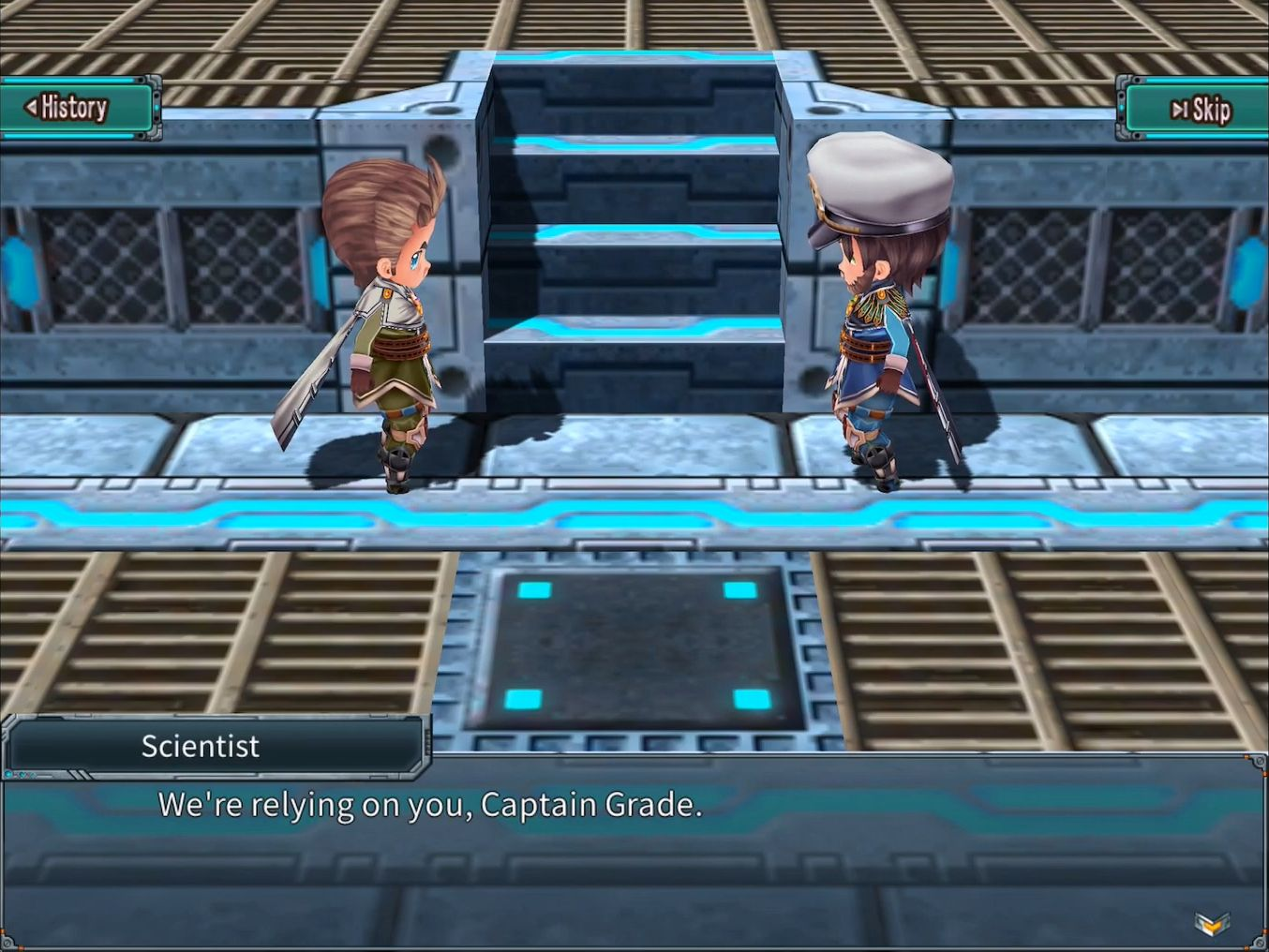 RPG Dimension Cross screenshot 1