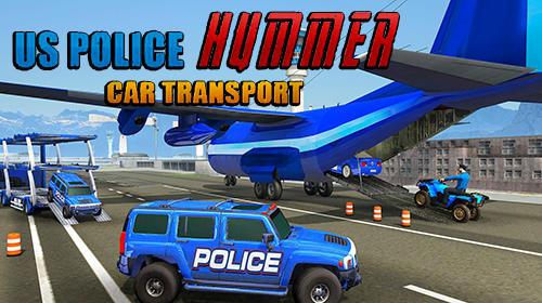 US police Hummer car quad bike transport screenshot 1