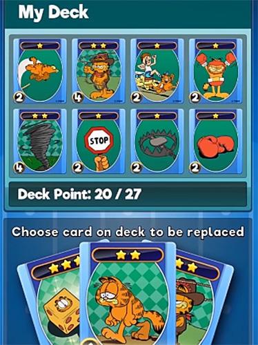Garfield dice rush скриншот 1