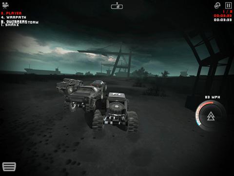Screenshot Uber Racer 3D Monster Truck: Alptraum auf dem iPhone