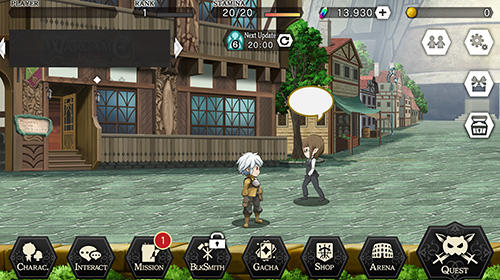 Strategische RPG-Spiele Danmachi: Memoria Freese. Is it wrong to try to pick up girls in a dungeon? Familia myth auf Deutsch
