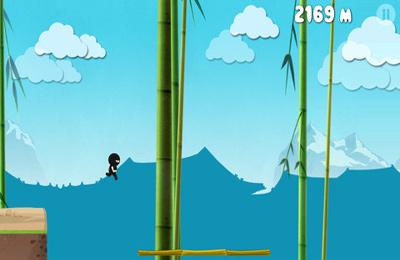 Jogos de arcade: faça o download de Corra Ninja corra para o seu telefone