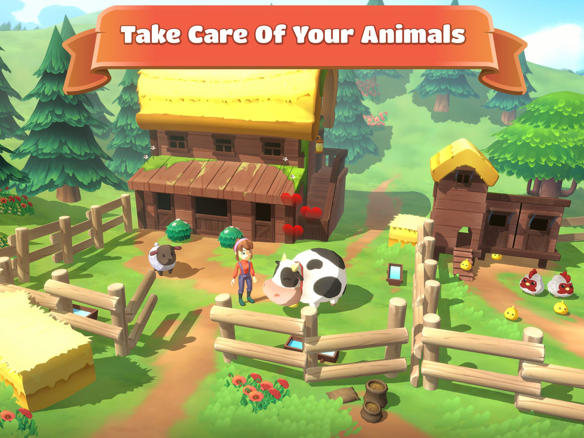 Big Farm: Story スクリーンショット1