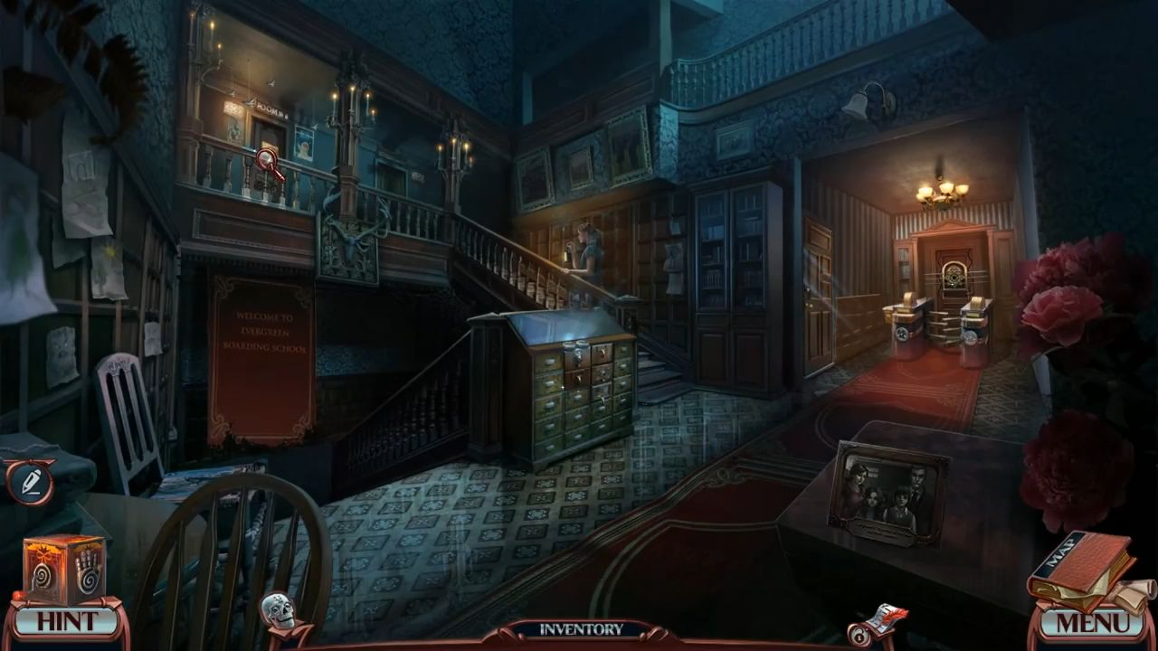 Grim Tales: The White Lady - Hidden Objects screenshot 1