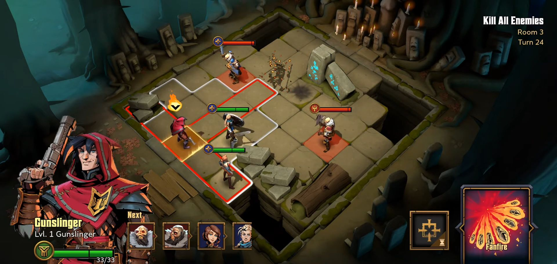 Grimguard Tactics: End of Legends para Android