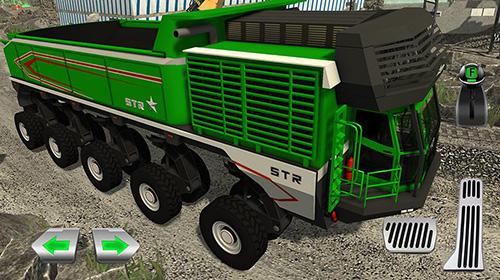 СимуляториQuarry driver 3: Giant trucksдля смартфону
