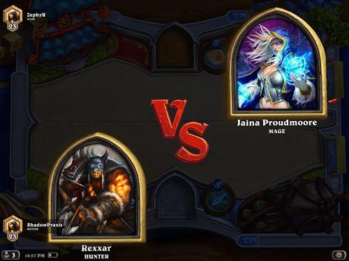 Juegos de rol: descarga Hartstoun: Los héroes de Warcraft a tu teléfono