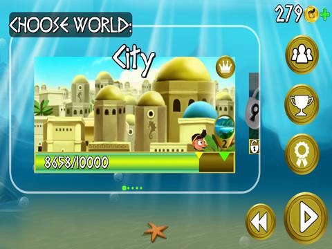 Аркады игры: Rope Escape Atlantis на телефон iOS