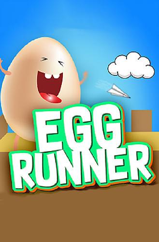Egg runner icon